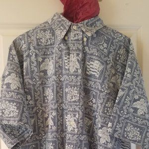 Reyn Spooner  LAHAINA SAILOR  Traditional shirt